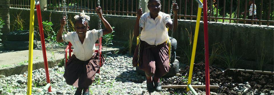 Playgrounds for Haiti