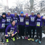 Team Alex runs the 2017 United Airlines NYC Half Marathon