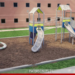 A spring playground for PS26 in Paterson, NJ