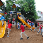 A new playground for School 26, Paterson, NJ