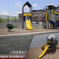 A fall playground for Napier Academy and School 28, Paterson, NJ