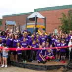 A new playground for Napier Academy & School 28, Paterson, NJ