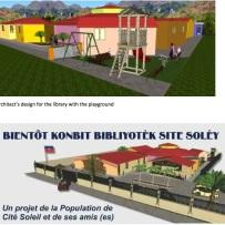 Konbit Bibliyotek Site Soley in Port-au-Prince Haiti