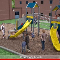 School 8 in Paterson, NJ is getting a new playground!