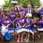 Paterson School 8 builds a new playground