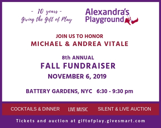 Fall Fundraiser Nov 6, 2019 Honoring Michael and Andrea Vitale - Buy your tickets