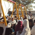 A new playground in Afghanistan