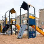 A new playground at School 10