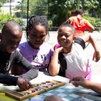 "Summer fun at NYC Parks ""Kids in Motion"" program at Mullaly Park, Bronx"