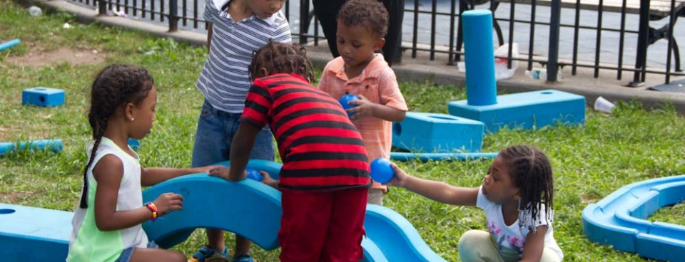 "NYC Parks ""Kids in Motion"" summer 2016 fun"