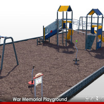 Coming soon to War Memorial Park in Yonkers, NY